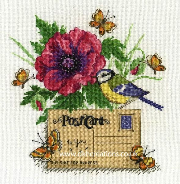Bluetit Cross Stitch Kit